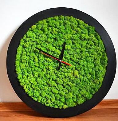 часы из мха подарки из мха