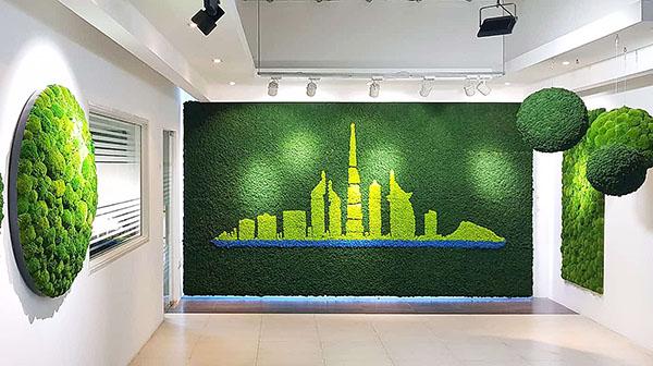 стены их мха ягеля, кочки, пласт - эксклюзивный проект