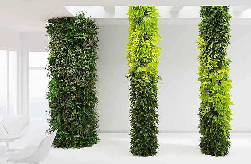 озеленение искусственными растениями купить Москва